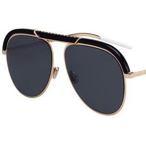 GREAT CONDITION: Dior Desertics Aviator Sunglasses